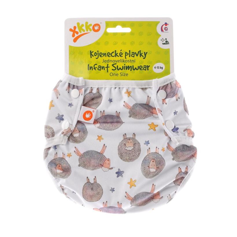Infant swim nappy XKKO OneSize - Dreamy Sheeps