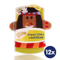 XKKO Cotton Bath Glove - Indian 12x1ps (Wholesale pack.)
