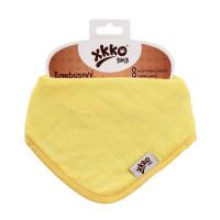 Bamboo bandana XKKO BMB - Lemon 3x1ps Wholesale packing