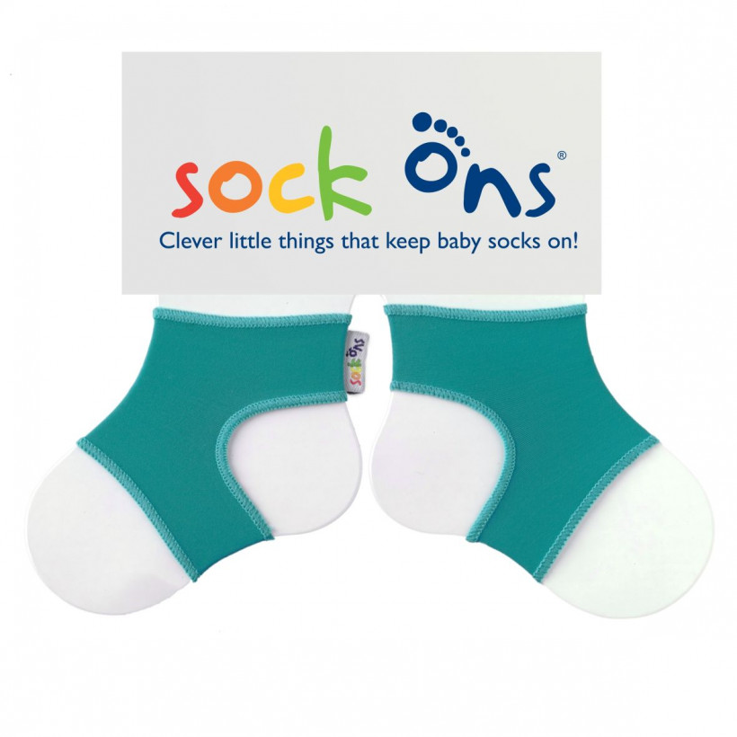 Sock Ons Turquoise 5x1 pair (Wholesale pack.)