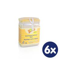 Prefolded Diapers XKKO Classic - Newborn Natural 6x6ps (Wholesale pack.)