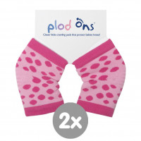 Plod Ons Pink Dots 2pairs (Wholesale pack.)