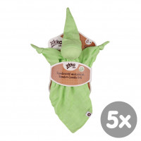 Bamboo cuddly toy XKKO BMB - Lime 5x1ps (Wholesale packaging)