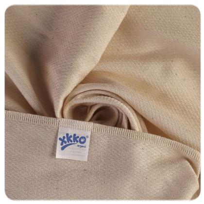Organic Cotton Diapers XKKO Organic 50x50 Bird Eye - Natural