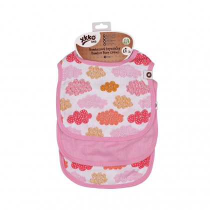 Bamboo Burp Cloth XKKO BMB - Heaven For Girls MIX 3ps
