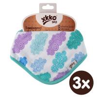 Bamboo bandana XKKO BMB - Heaven For Boys 3x1ps Wholesale packing