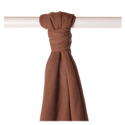 Bamboo muslin towel XKKO BMB 90x100 - Milk Choco