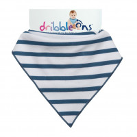 Dribble Ons Nautical Stripes 3x1ps (Wholesale pack.)