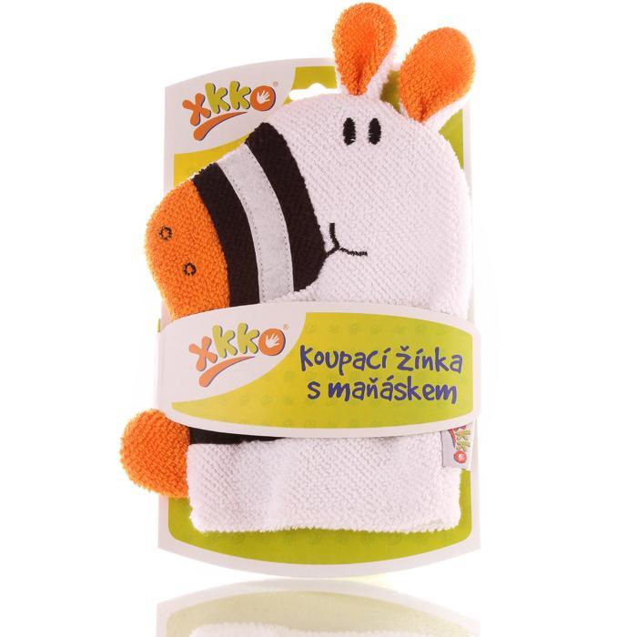 XKKO Cotton Bath Glove - Zebra 2