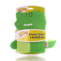 XKKO Cotton Bath Glove - Crocodille