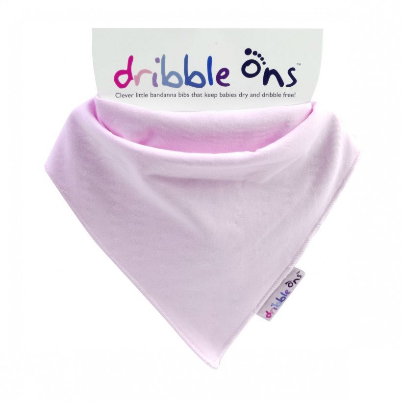 Dribble Ons Baby Pink 3x1ps (Wholesale pack.)