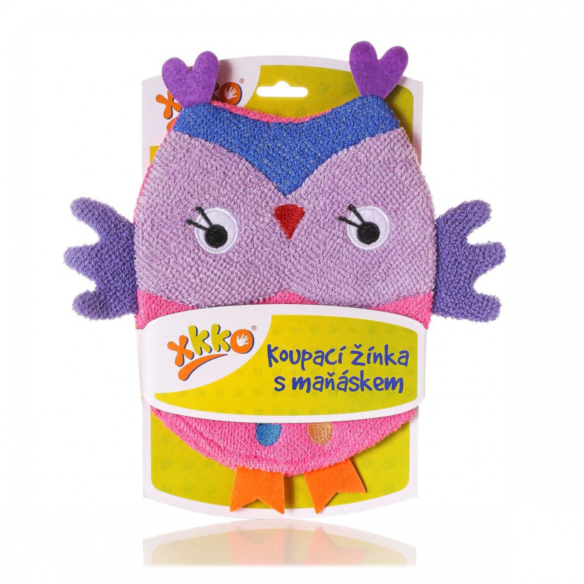 XKKO Cotton Bath Glove - Owl 2