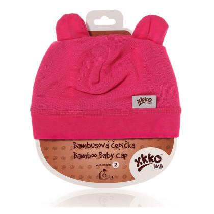 Bamboo Baby Hat XKKO BMB - Magenta