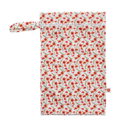 Wet Bag XKKO Size M - Red Poppies