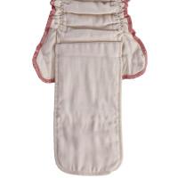 Organic cotton fitted diaper XKKO Organic - Natural Size M