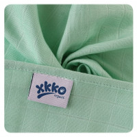 Organic Cotton Muslins XKKO Organic 70x70 Old Times - Pastels for Boys 40x5ps (Wholesale pack.)