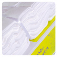 Hight Density Cotton Muslins XKKO LUX 70x70 - White