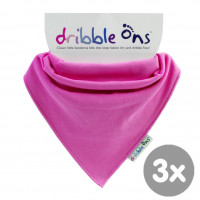 Dribble Ons Fuchsia 3x1ps (Wholesale pack.)