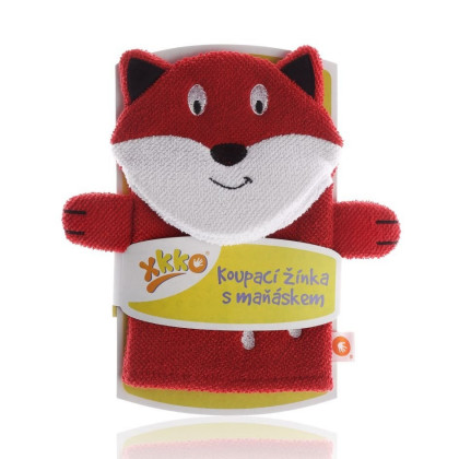 XKKO Cotton Bath Glove - Fox