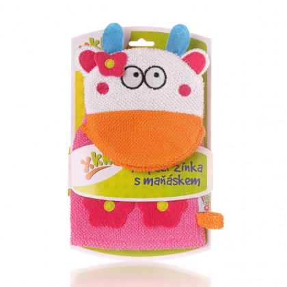 XKKO Cotton Bath Glove - Cow