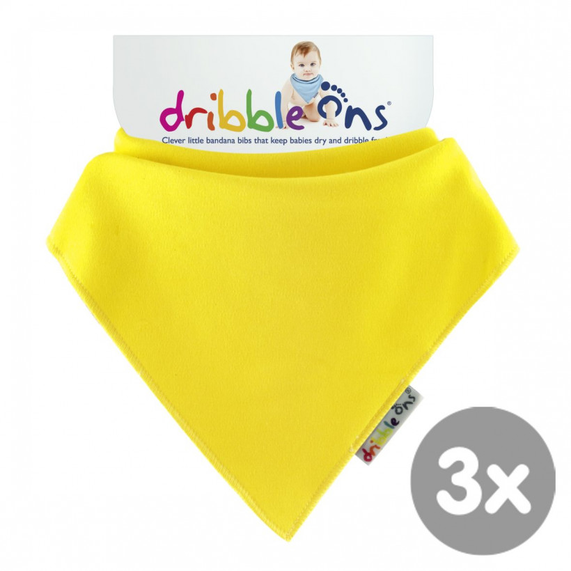 Dribble Ons Lemon 3x1ps (Wholesale pack.)