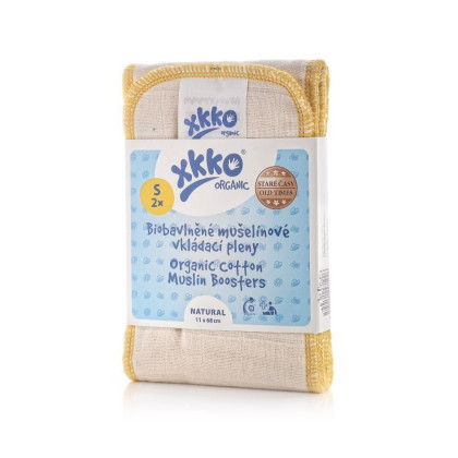 XKKO Organic Old Times Booster - Natural Size S (2ps)