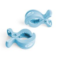Pram Clips XKKO - Baby Blue