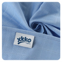 Organic Cotton Muslins XKKO Organic 70x70 Old Times - Pastels for Boys 5x5ps (Wholesale pack.)