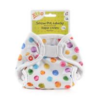 XKKO Diaper Cover Newborn - Watercolour Polka Dots