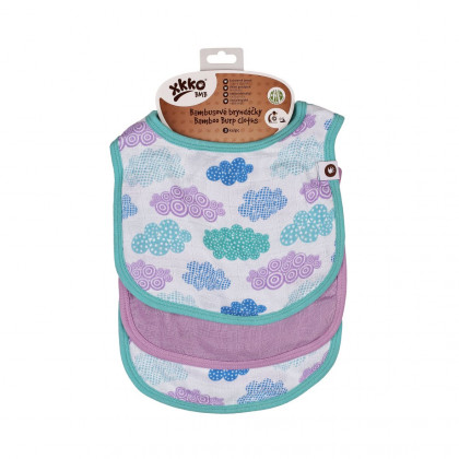Bamboo Burp Cloth XKKO BMB - Heaven For Boys MIX 3ps