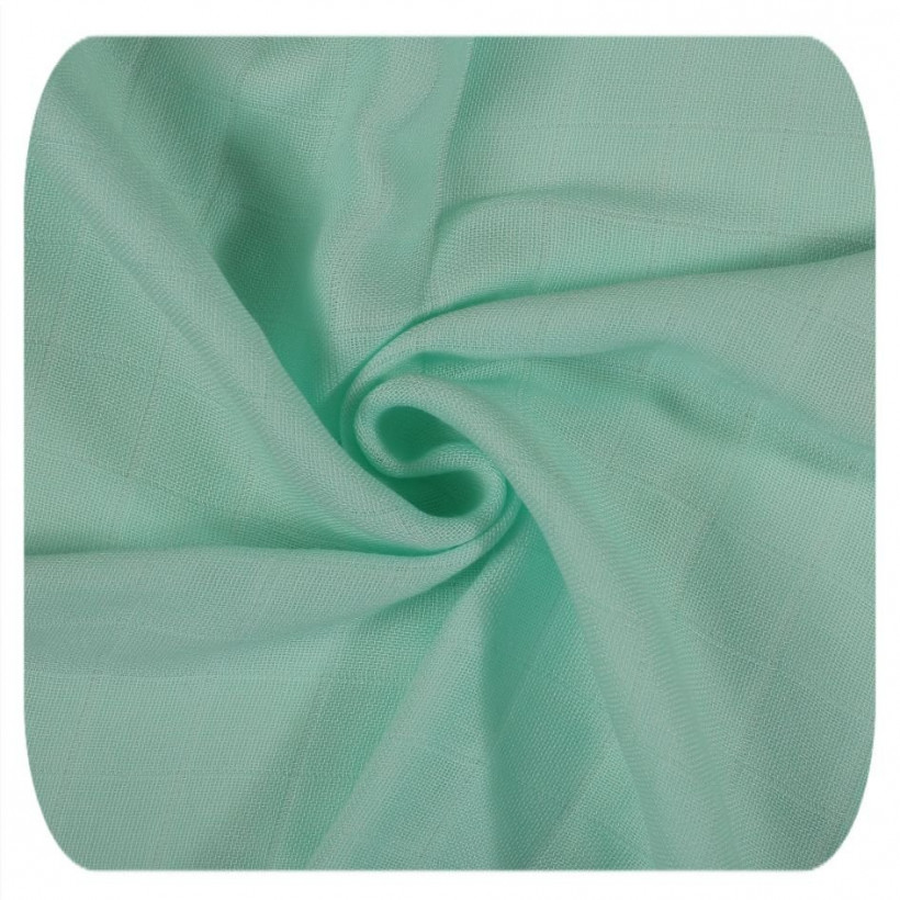 Bamboo muslins XKKO BMB 70x70 - Scandinavian Mint MIX 10x3pcs (Wholesale packaging)