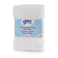Organic cotton terry wipes XKKO Organic 40x40 - White