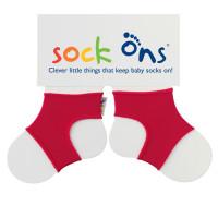 Sock Ons Red 5x1 pair (Wholesale pack.)