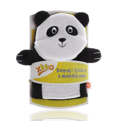 XKKO Cotton Bath Glove - Panda