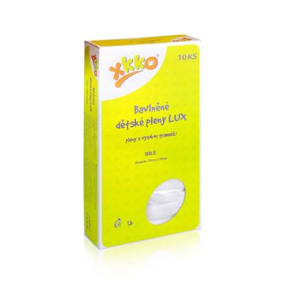 Hight Density Cotton Muslins XKKO LUX 70x70 - White