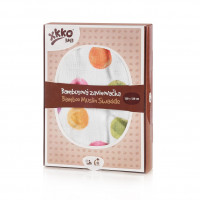 Bamboo swaddle XKKO BMB 120x120 Digi - Watercolour Polka Dots