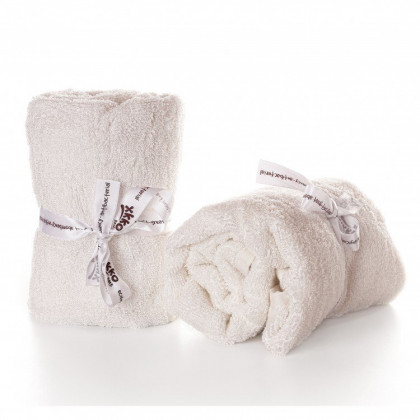 Bamboo washcloths XKKO BMB 60x60 - Natural