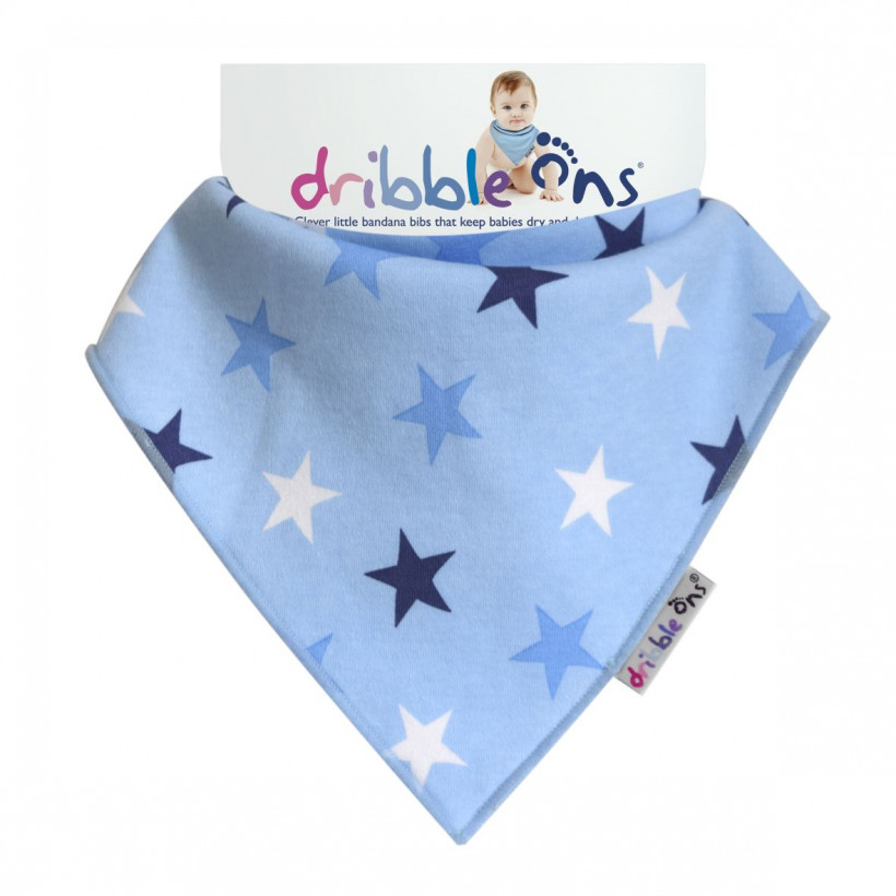 Dribble Ons Blue Stars 3x1ps (Wholesale pack.)