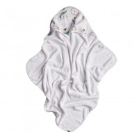 Hooded bamboo terry towel XKKO BMB 90x90 - Dream Catcher