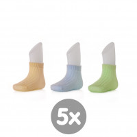 Bamboo Socks XKKO BMB - Pastels For Boys 5x box (Wholesale package)