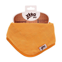 Bamboo bandana XKKO BMB - Orange 3x1ps Wholesale packing