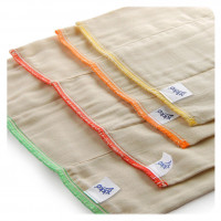 Prefolded Diapers XKKO Classic - Newborn Natural 6x6ps (Wholesale pack.)