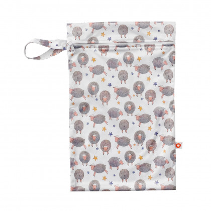 Wet Bag XKKO Size M - Dreamy Sheeps