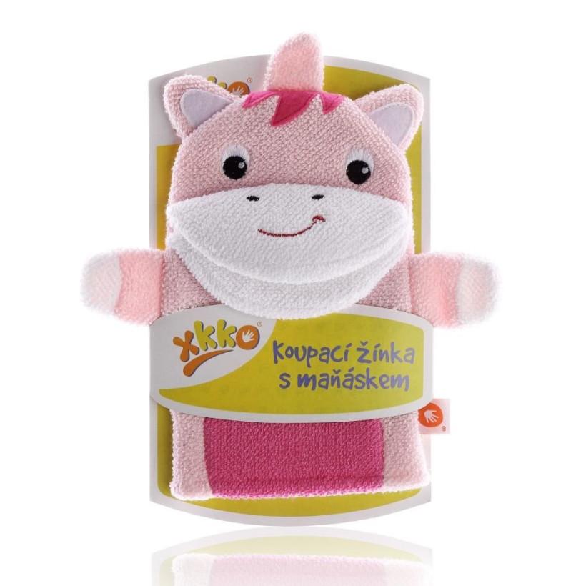 XKKO Cotton Bath Glove - Unicorn