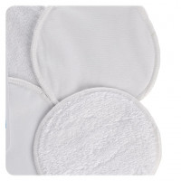 Breast Pads XKKO Organic - White 5x6ps (Wholesale pack.)