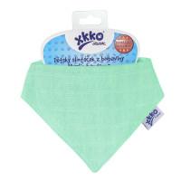 Organic Cotton Muslin Bandana XKKO Organic - Green