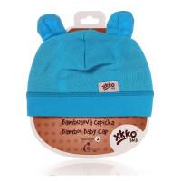 Bamboo Baby Hat XKKO BMB - Cyan