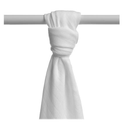 Bamboo muslin towel XKKO BMB 90x100 - White
