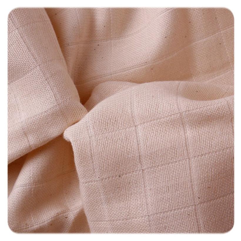 Organic Cotton Muslins XKKO Organic 70x70 Old Times - Natural