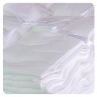 Hight Density Cotton Muslins XKKO LUX 80x80 - White